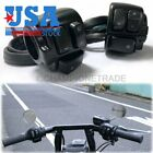 US Black 1 Handlebar Switches Control Harness For Harley Turn Signal Headlight