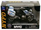 NEW RAY NYPD BMW R1200RT-P MOTORCYCLE POLICE 1/18 DIECAST 67555