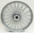 80 SPOKE TWISTED 21 FRONT WHEEL HARLEY SOFTAIL FXST FXSTC DYNA WIDE GLIDE 84 99
