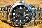 Omega Seamaster Blue Wave Dial 41mm Automatic 2531.80 Box Papers James Bond 007