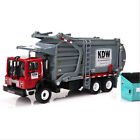 124 Scale Material Transporter Garbage Truck Vehicle Car Diecast Model Toys