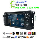 GPS Navigation Car Stereo Radio DVD Player For Jeep Wrangler Unlimited 2007 2012