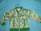 GIRLS SZ 3T SATIN Plaid JACKET KIDS COOGI COAT CLASSIC OUTERWEAR APPAREL Nice