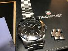 Tag Heuer Aquaracer Automatic WAF2110.BA0806 Wrist Watch for Men with extra link