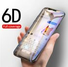 🔥Full Cover 6D Edge Tempered Glass For iPhone X 7 8 6 6s Plus Screen Protector