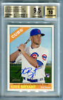 [Kris Bryant] 2015 Topps Heritage High Number Real One Blue Ink Auto BGS9.5 10