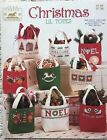 Vintage Jean Farish Needleworks Christmas Lil Totes 38 Cross Stitch Patterns