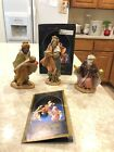 1992 5 INCH FONTANINI COLLECTION THREE KINGS WISE MEN BATHAZAR GASPAR MELCHOIR