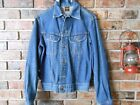 Vintage 1970s 80s Lee Riders Jean Denim Jacket Sz Size 38 40 Made In Canada