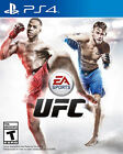PS4 UFC VIDEO GAME SONY PLAY STATION 4 NO SCRATCHES ULTIMATE FIGHTING SPORTS