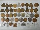 42 CANADA DOG TAX LICENSE TAGS ALL PHOTOGRAPHED WIDE RANGE *TAKE YOUR PICK* NO1