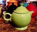 Fiesta CHARTREUSE Large TEAPOT  44 oz. Retired Color Fiestaware