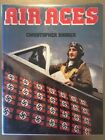 Signed by 13 aces and author Air Aces by Christopher Shores 1983 Hardcover