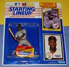 1990 SANDY ALOMAR JR Cleveland Indians Rookie Starting Lineup w/ Padres card NM+