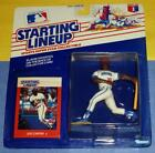 1988 JOE CARTER #30 Cleveland Indians Rookie - FREE s/h - Starting Lineup NM