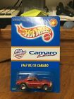 1997 Hot Wheels Limited Edition US Camaro Club 67 RS SS Camaro w Protecto Rare