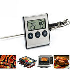 LCD BBQ Grill Thermometer Alarm Edelstahl Bratenthermometer Grillthermometer Pop
