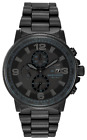 Citizen Eco-Drive Nighthawk Men's Black Stainless Steel Watch CA0295-58E