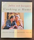 Julia and Jacques Cooking at Home  SIGNED Autographed  Julia Child Cookbook