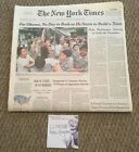 The New York Times COMPLETE NEWSPAPER  NOT REPRINT President OBAMA NOV 6 2008