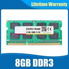 FACTORY SEALED 8GB DDR3 DDR3L Sodimm 1600Mhz PC3 12800 204pin laptop memory