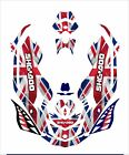 Sea-Doo Bombardier Spark 2 3 Jet Ski Graphic Kit Wrap Jetski decals english flag