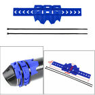 Blue Heat Resistant Cover Motorcycle Exhaust Silencer Anti Bumps Protector Guard