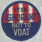 It Is Ignorant Not TO Voat Patch