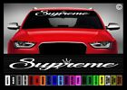 40 Supreme 1 Jdm Street Racing Import Race Car Decal Sticker Windshield Banner
