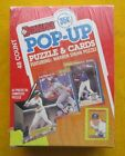 1989 DONRUSS POP-UPS BASEBALL CARDS & Stan MUSIAL PUZZLE BOX, with 48 Packs
