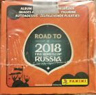 RUSSIA WC 2017 Panini Road to Stickers box 50 packs made in brazil by Panini