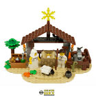 Christmas Nativity Custom Model REAL LEGO BRICKS over 160 pieces