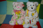 Ty Beanie Baby Buddy Bears Bloom and Cheery 14