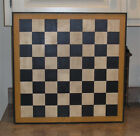 Primitive Hand Painted Checkerboard Wooden Game Board