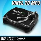 DJ HI-FI PC USB SD LP ENCODING PLATTENSPIELER TURNTABLE