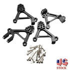 1 Set Racing Aluminum Front Rear Shock Tower Hoops Fit For Traxxas TRX4 TRX 4