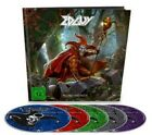 EDGUY - MONUMENTS (LIMITED EDITION 5-DISC's + 160-page ARTBOOK) 2017 AYREON