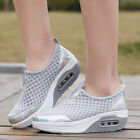 Womens Shake Shoes Platform Sneakers Mesh Casual Trainers Athletic Walking Sport