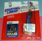 1988 GERALD WILKINS New York Knicks NM+ Rookie - FREE s/h - sole Starting Lineup
