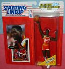 1993 DOMINIQUE WILKINS final Atlanta Hawks NM/MINT Starting Lineup + 2 cards