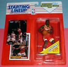 1993 STACEY AUGMON Atlanta Hawks Rookie NM+ #2 -FREE s/h- Kenner Starting Lineup