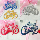 Merry Christmas Cutting Dies Stencil Craft DIY Scrapbooking Embossing Cards Tool