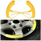 2pcs Motorcycles Changing Wheel Tire Tyre Rim Edge Protection Tools Plastic