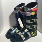 Vintage Lange X9 Ski Boots Size 10 Neon Yellow Pink 323mm