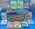 Mattel Intellivision System CIB Complete Box Lot 11 Video Games Tested Working