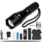 Ultra Bright L2 Led Flashlight 5 Modes 4000 Lumens Zoomable Torch 18650 Battery