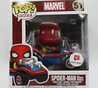 Funko Pop Ride Marvel Spider-Man with Spider Mobile Walgreen Exclusive #51