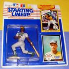 1990 RICKEY HENDERSON 1st Oakland Athletics A's NM- Starting Lineup + 1979 card