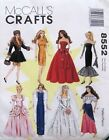 "UNCUT-Vtg. 90's-BARBlE 11-1/2"" DOLL CLOTHES McCall's Crafts Sewing Pattern 8552"