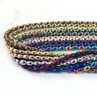 3mm 10mm Multi Color Natural Hematite Gemstone Rice Spacer Beads Strand 155 16